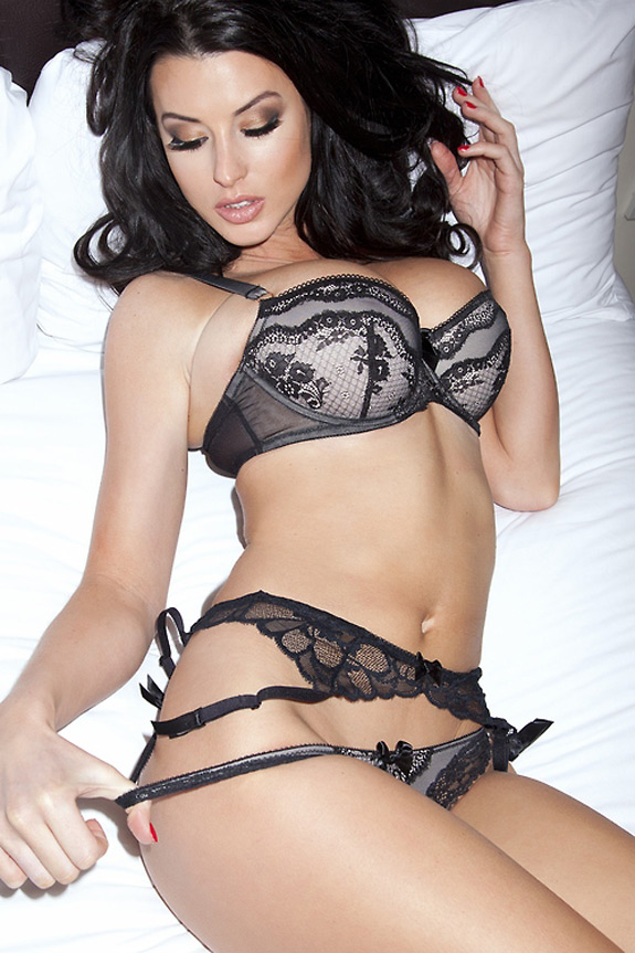 Sexy Photo Alice Goodwin Lingerie