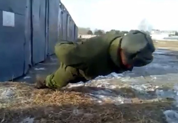 No Hands Push Ups Russia