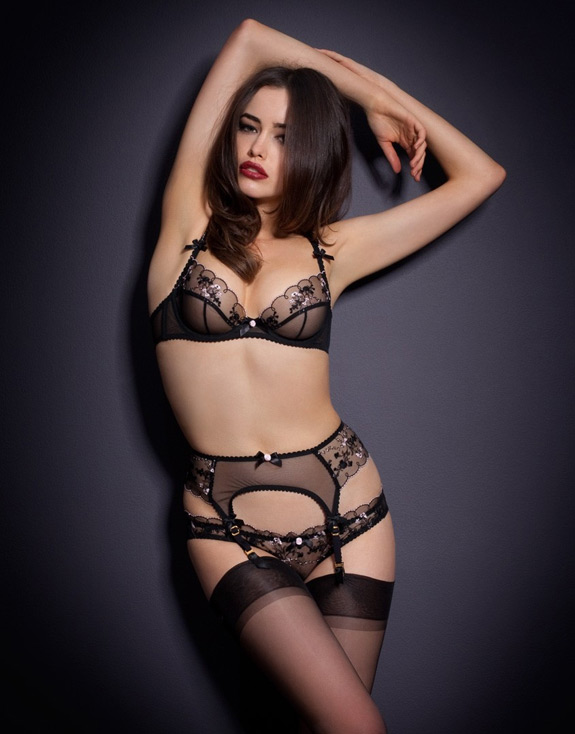 Sarah Stephen Agent Provocateur Photos
