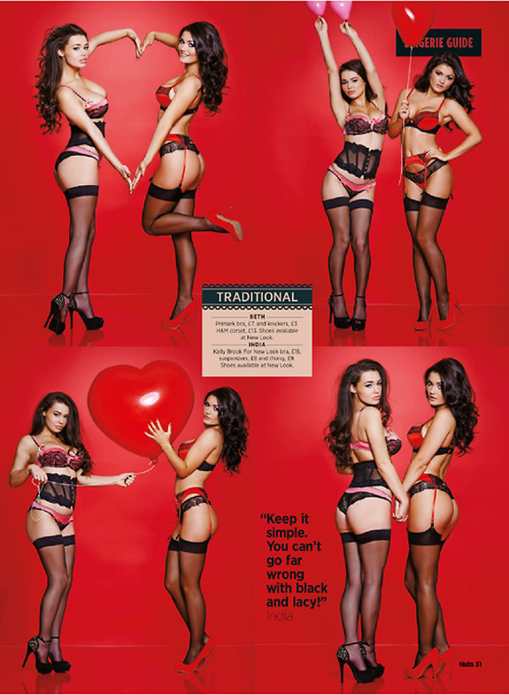 Valentines Lingerie Guide