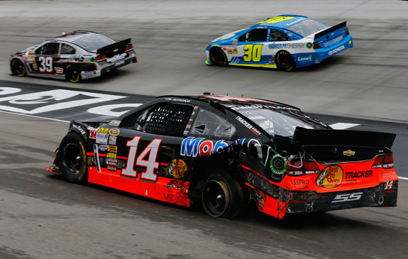 2013 NASCAR Bristol March Tony Stewart Incident