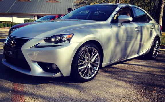 2014 Lexus IS Photos (5)