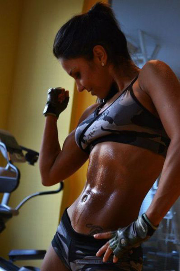 Daily ABspiration Hot Chicks With Hot Abs Nice Muscles