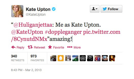 Kate Upton Look Alike Russian Girl Tweet