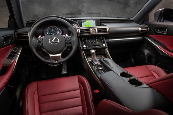 2014 Lexus IS Photos (19)