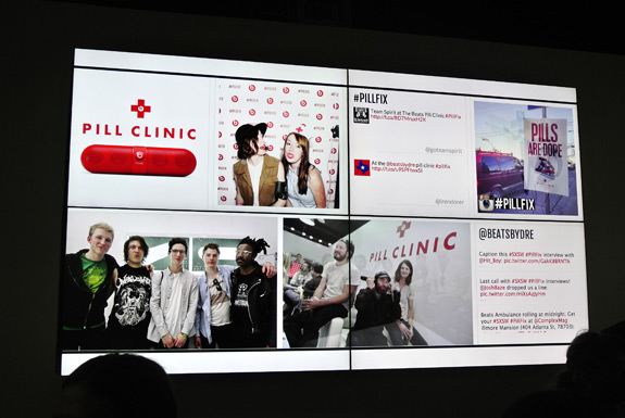 SXSW Beats By Dre Pill Clinic