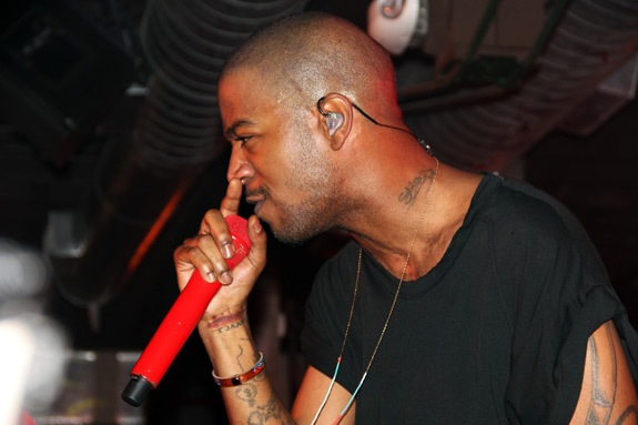 SXSW Kid Cudi MySpace Secret Show