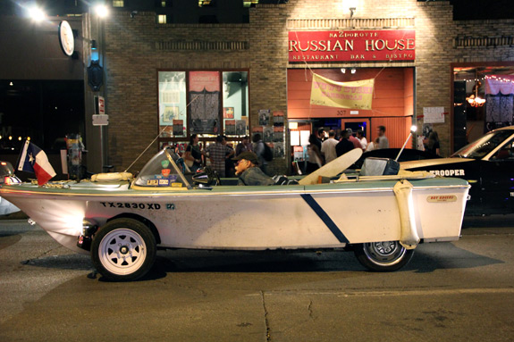 SXSW Photos Car Boat