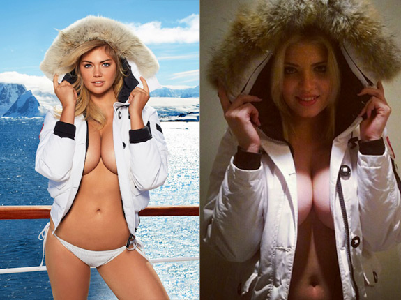 Sports Illustrated Swimsuit Kate Upton Russian Look Alike