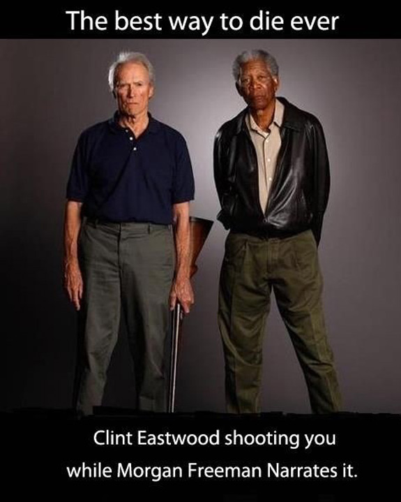 Clint Eastwood Morgan Freeman