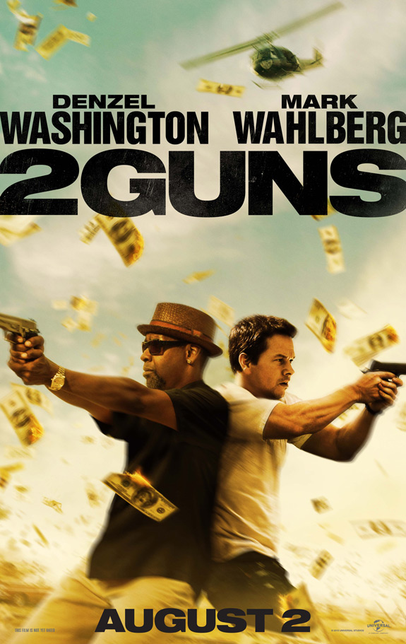 2 Guns Movie Denzel Washington Mark Wahlberg