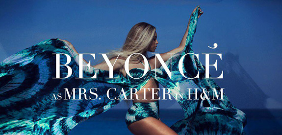 Beyonce Mrs Carter H M Commercial