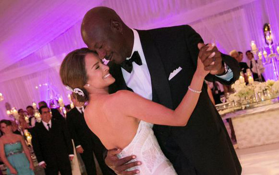 Michael Jordan Marries Wedding
