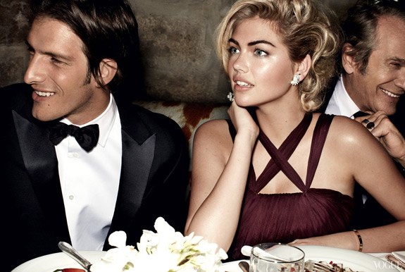 Kate Upton Vogue Cover Photos
