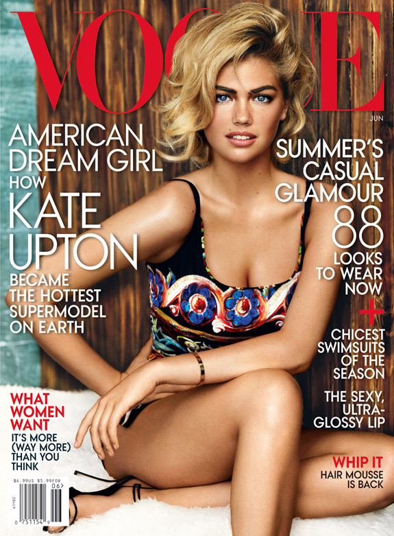 Kate Upton Vogue Covers