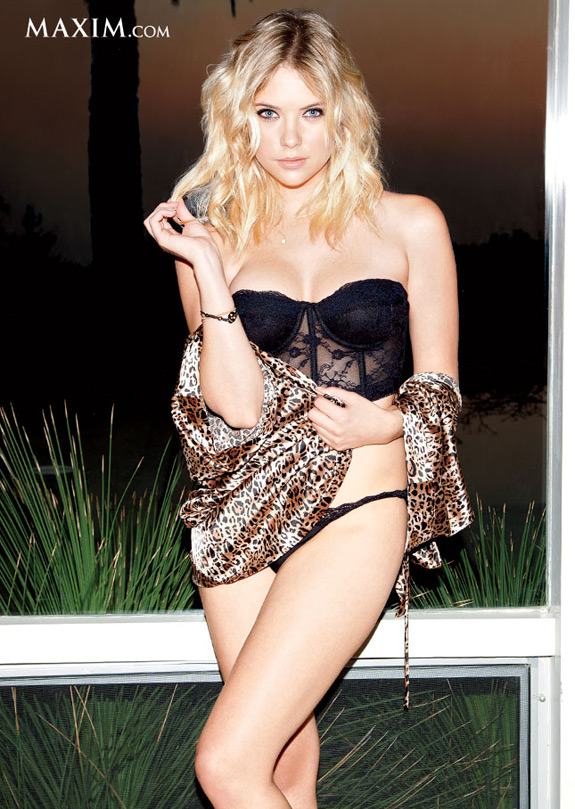 Maxim Hot 100 Ashley Benson