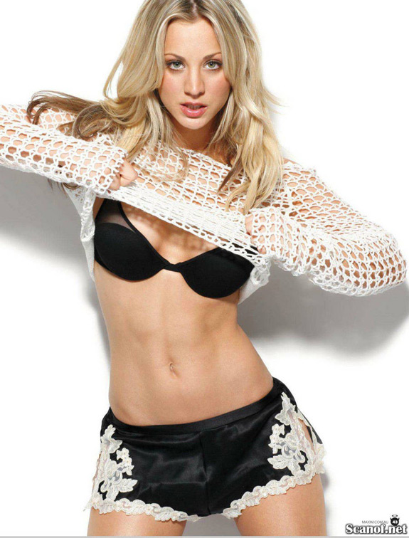 Maxim Hot 100 Kaley Cuoco