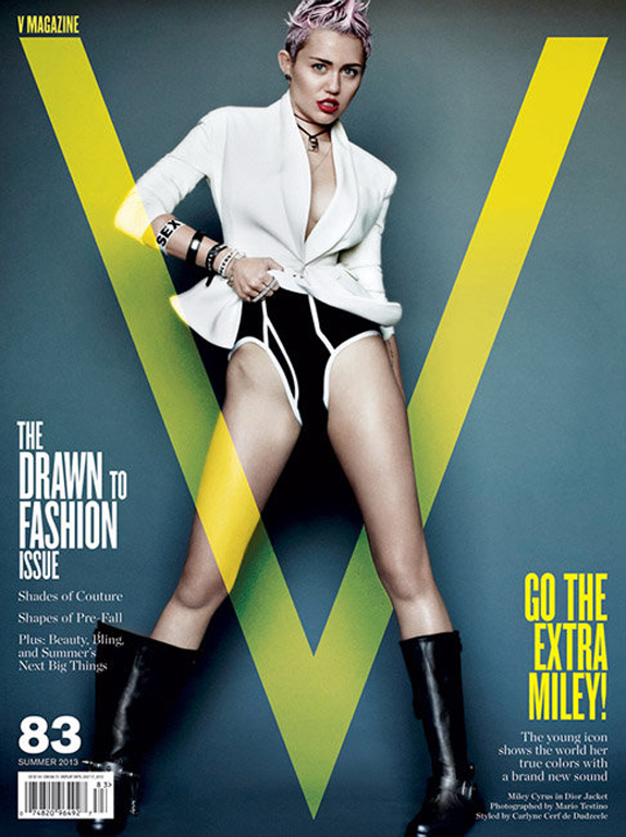 Miley Cyrus V Magazine Photos (7)