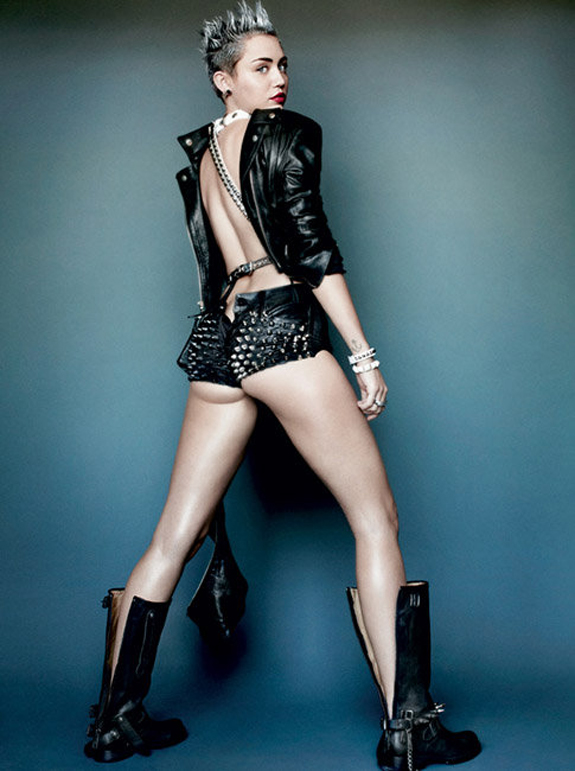 Miley Cyrus V Magazine Photos (3)