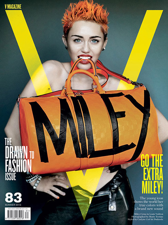 Miley Cyrus V Magazine Photos (8)