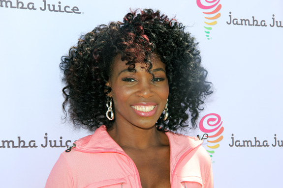 Venus Williams FiTrends Expo Jamba Juice