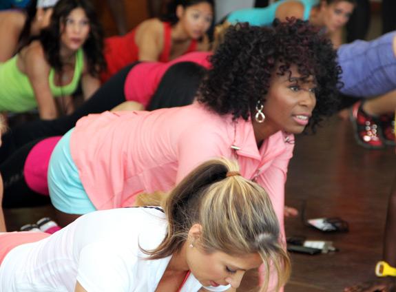 Venus Williams FiTrends Expo Jamba Juice