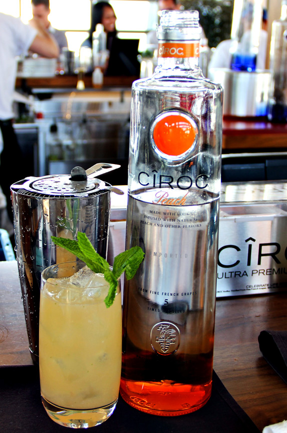 ciroc peach cocktail