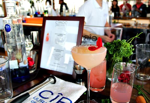 ciroc summer school cocktails