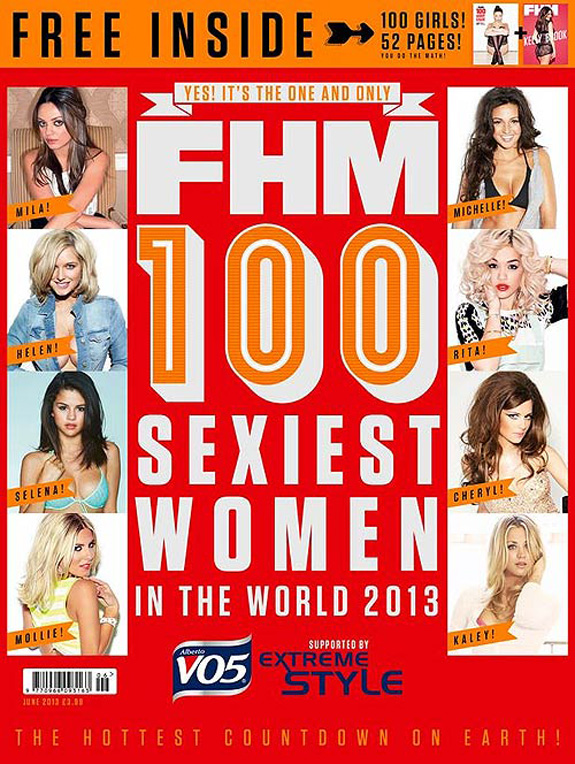 Fhm 100 Sexiest Women In The World