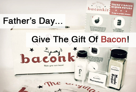 Fathers Day Bacon Kit Gift