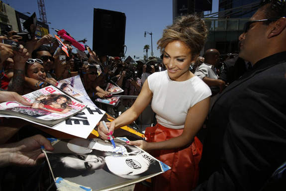 Jennifer Lopez Hollywood Walk Fame
