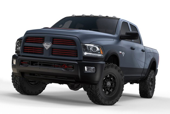 Ram Truck Superman Man Of Steel