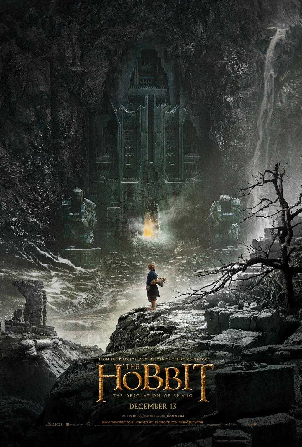 The Hobbit Desolation Of Smaug Poster