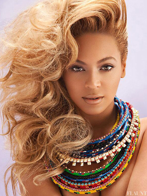 Beyonce Flaunt Magazine