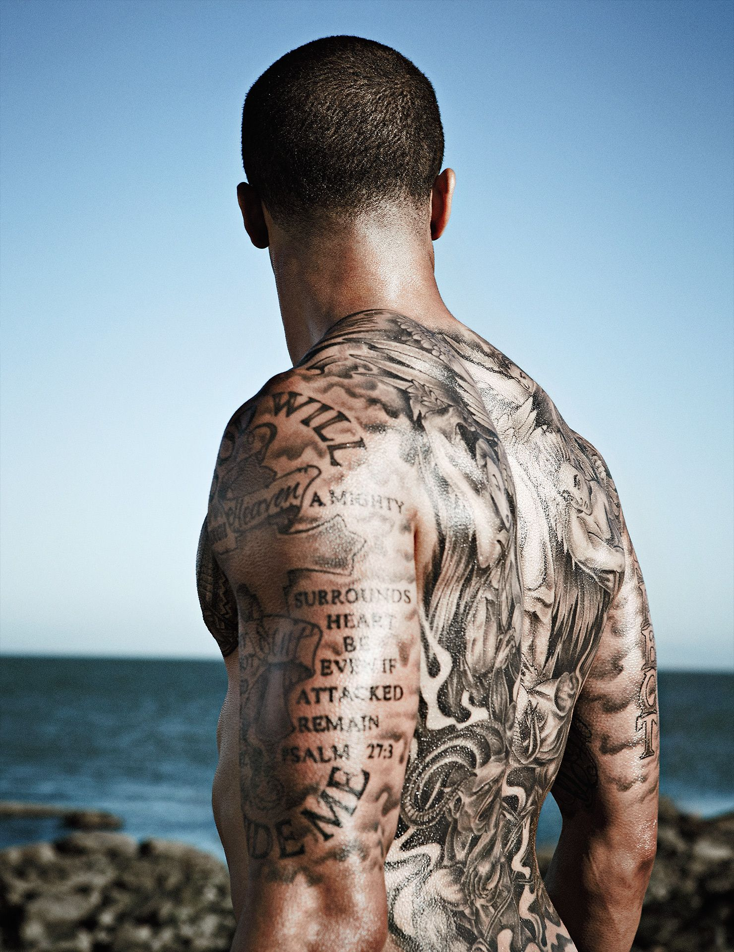 Colin Kaepernick ESPN Body Issue Naked 5