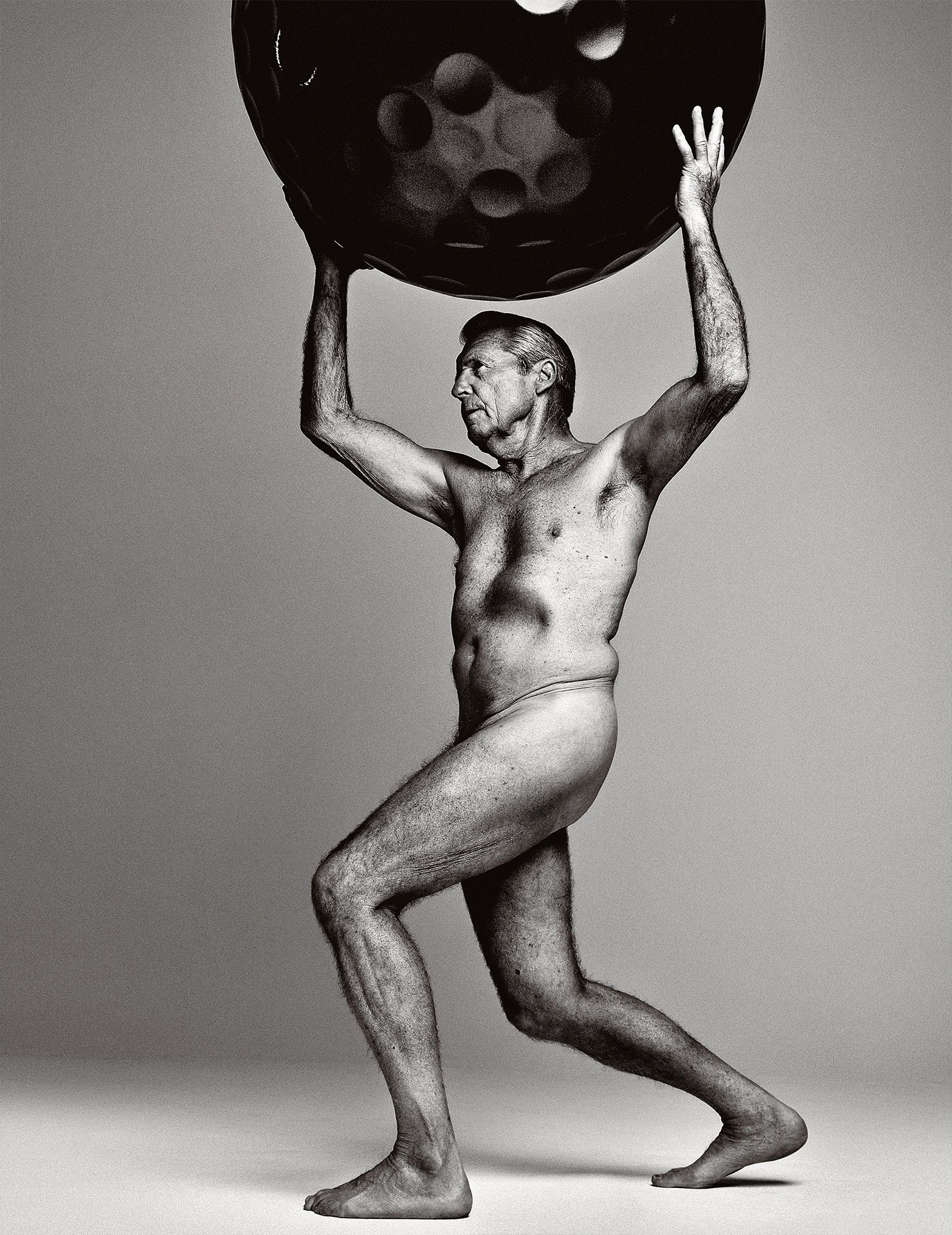 Gary Player ESPN Body Issue Naked