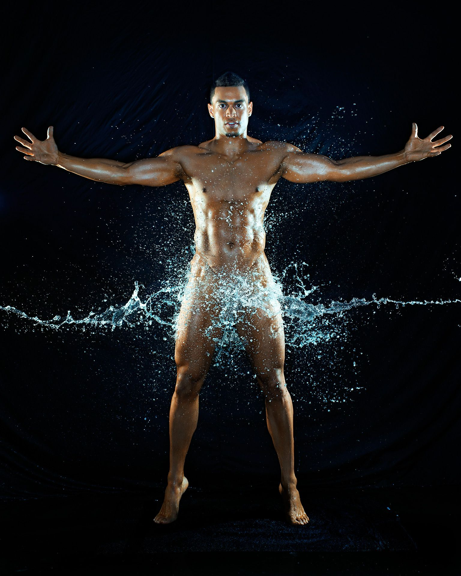 Giancarlo Stanton ESPN Body Issue Naked 2