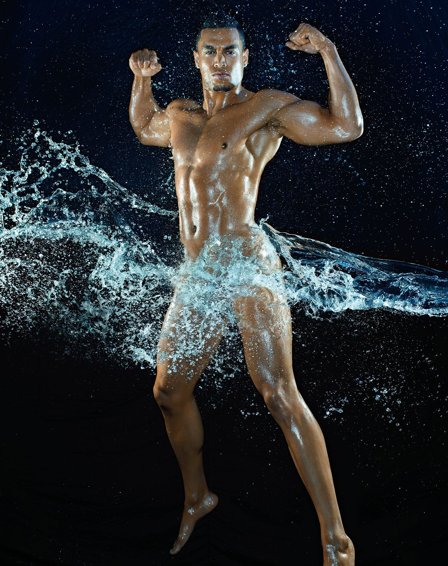 Giancarlo Stanton ESPN Body Issue Naked