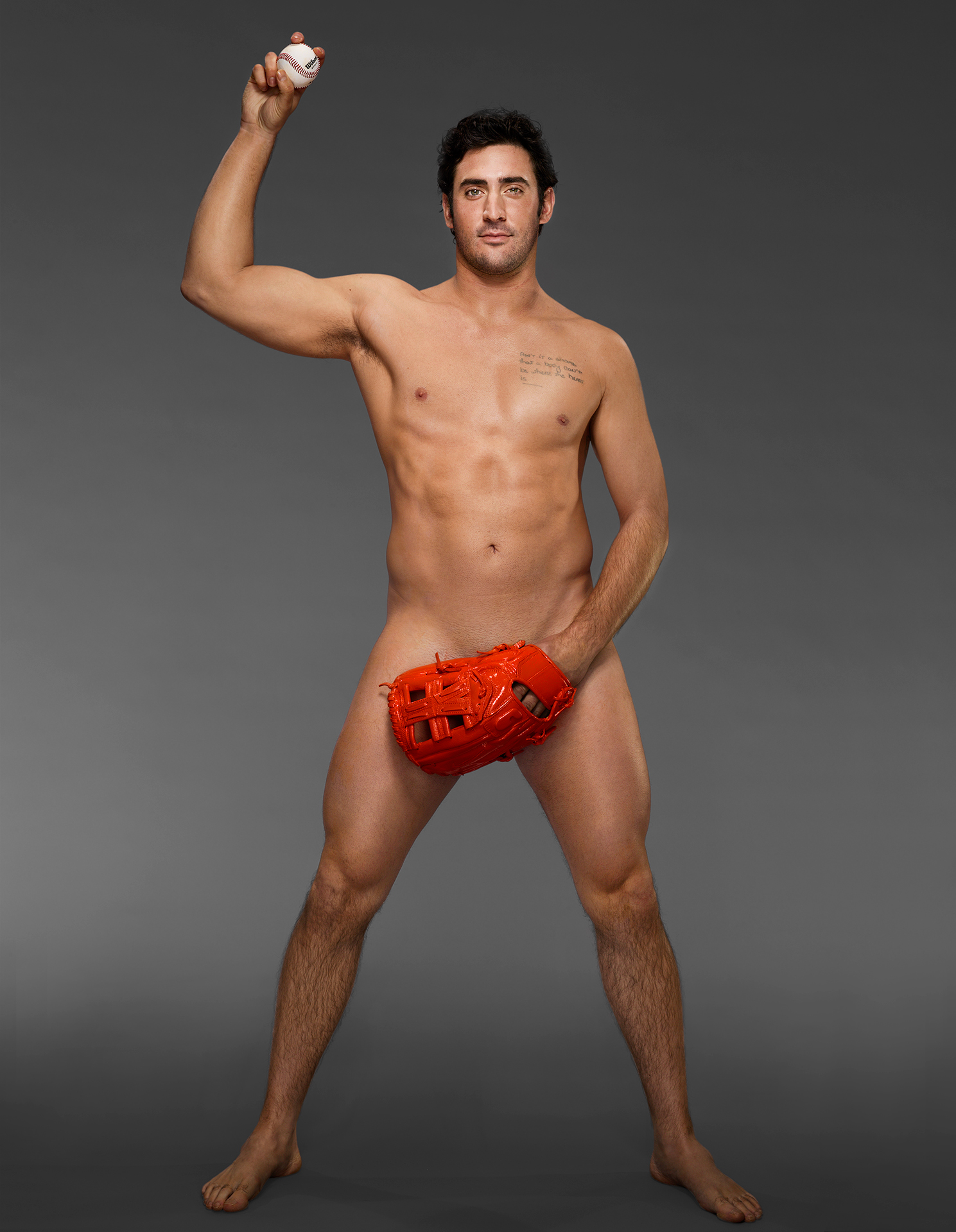 Harvey Matt ESPN Body Issue Naked
