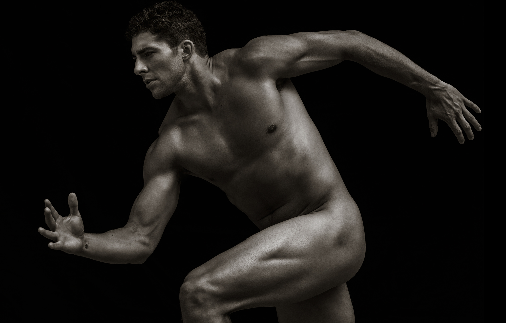Joffrey Lupul ESPN Body Issue Naked