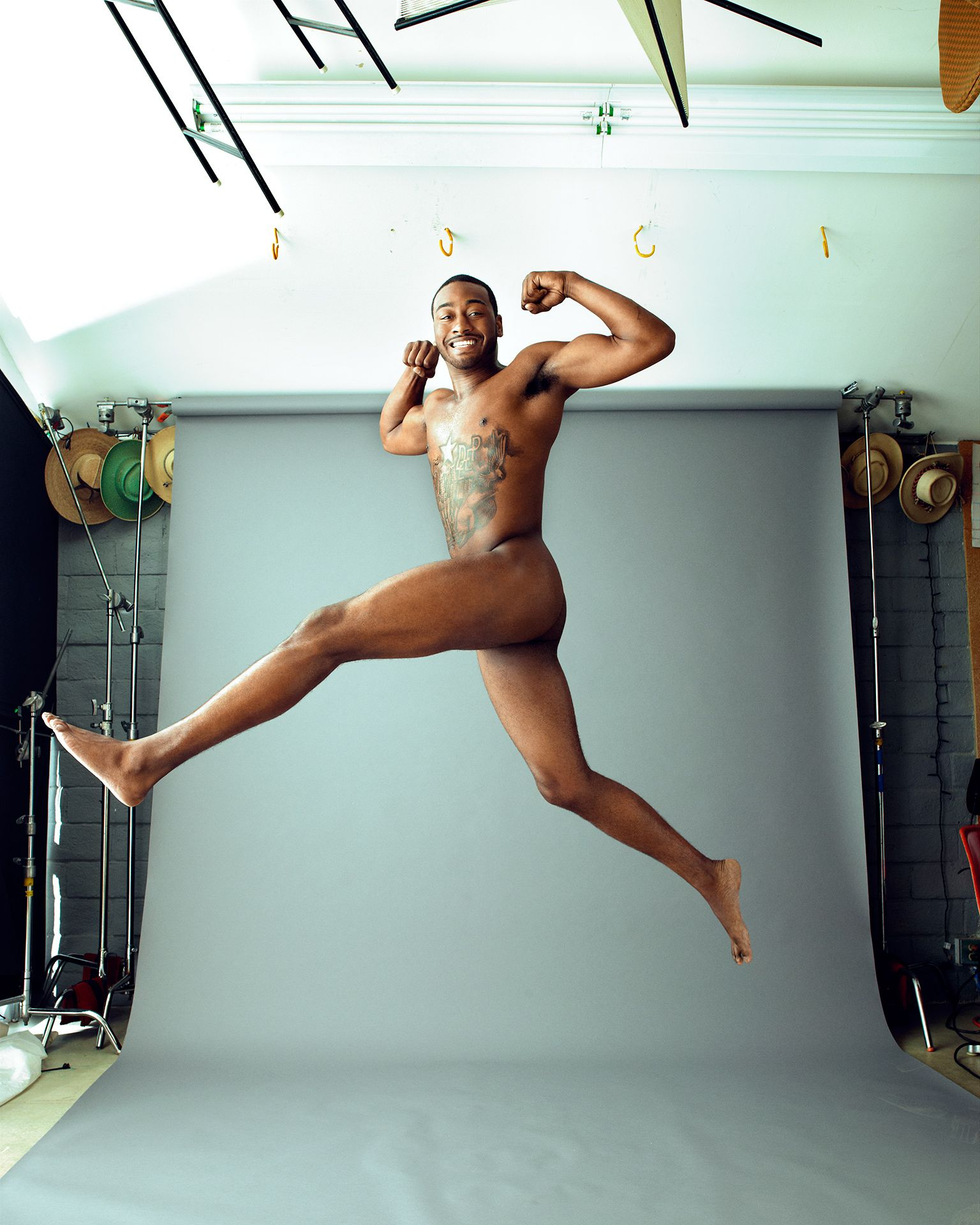 John Wall NBA ESPN Body Issue Naked Behind Scenes