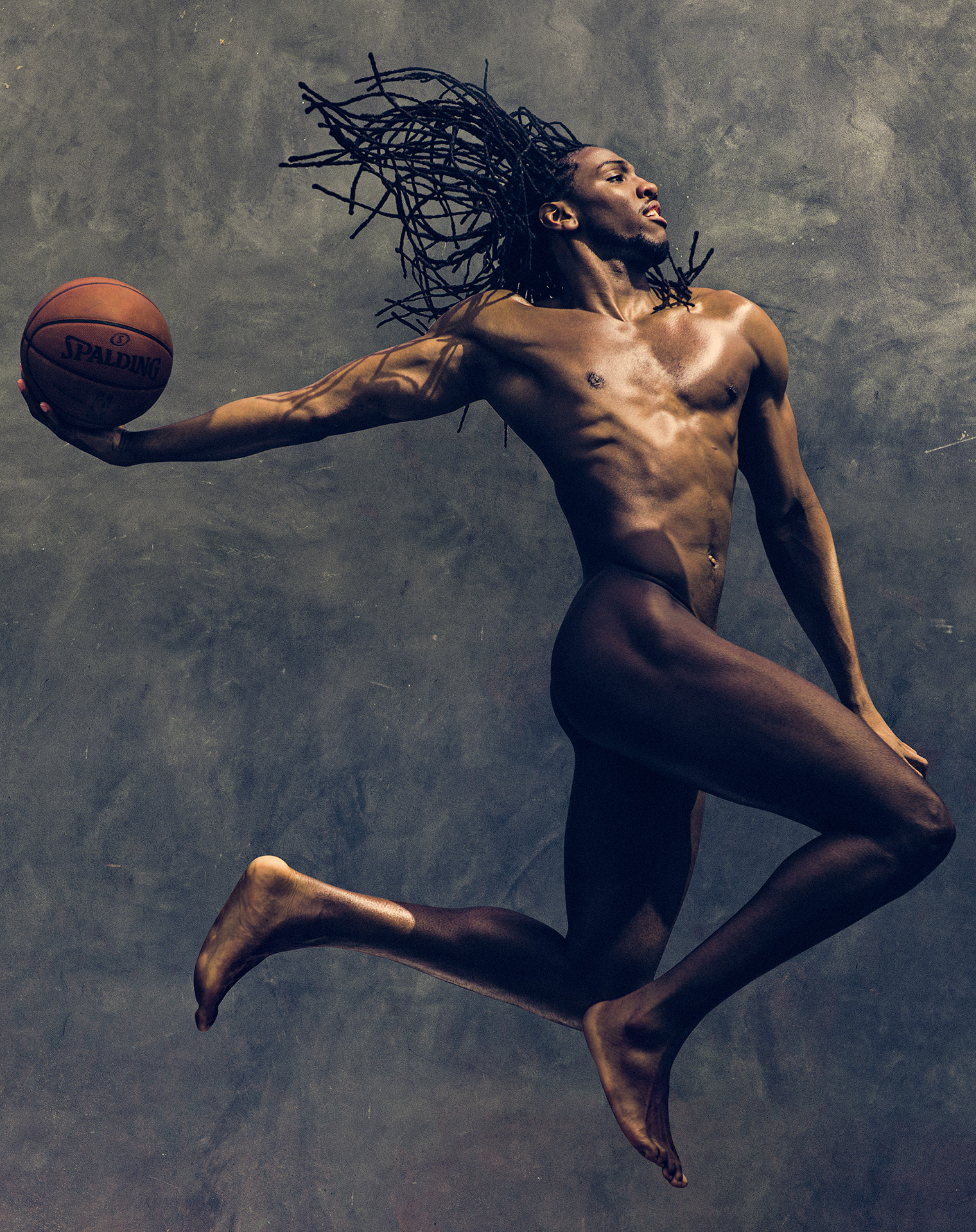 Kenneth Faried ESPN Body Issue Naked