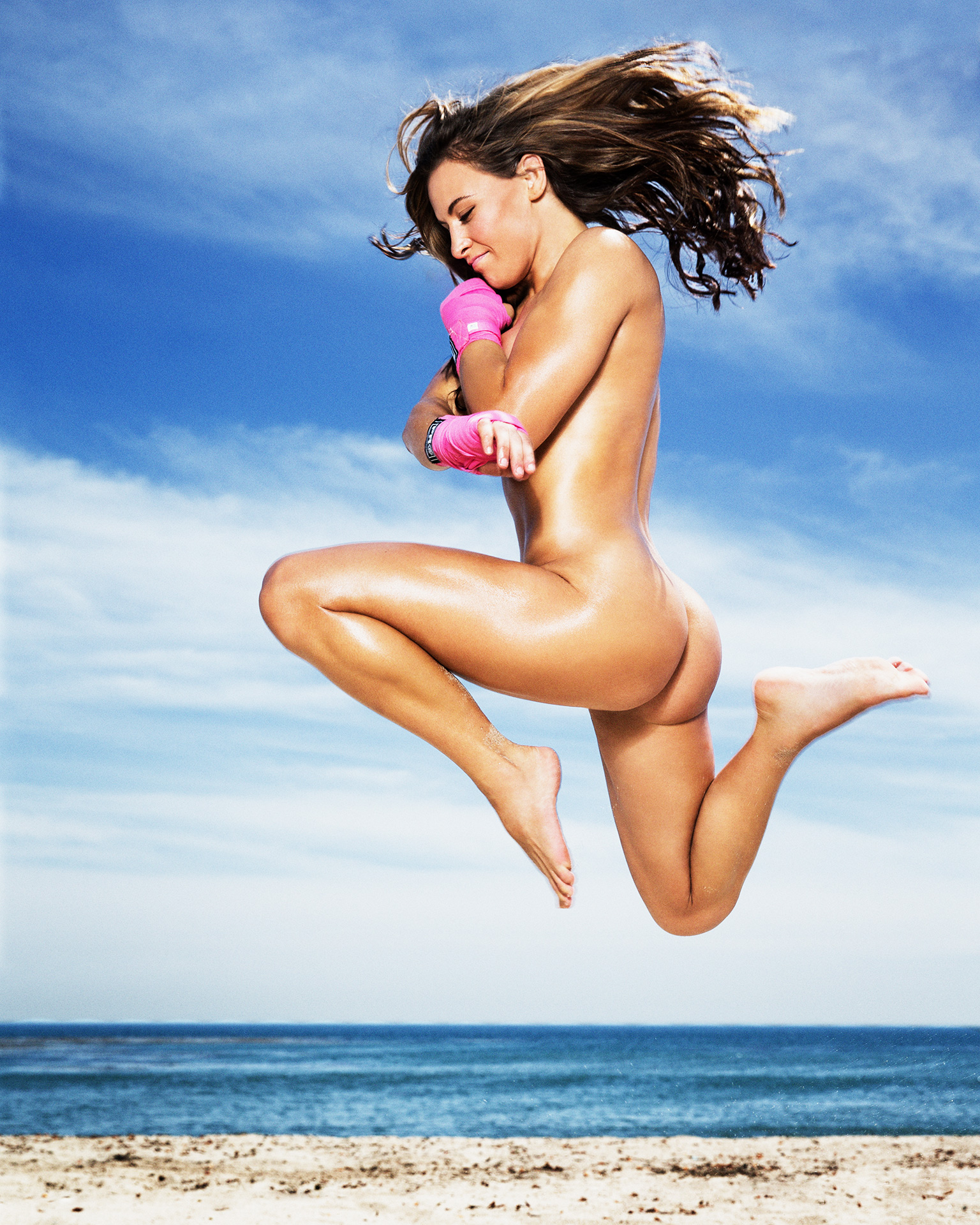 Miesha Tate ESPN Body Issue Naked 2
