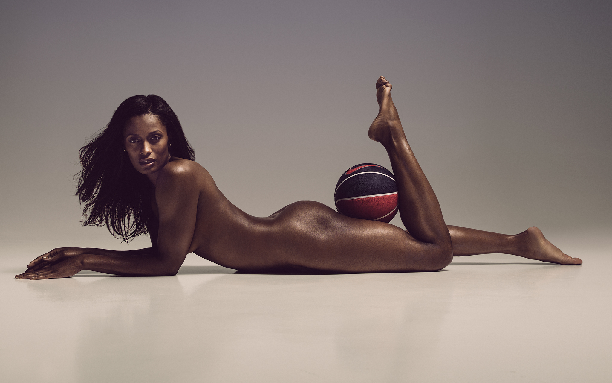 Athletic naked women
