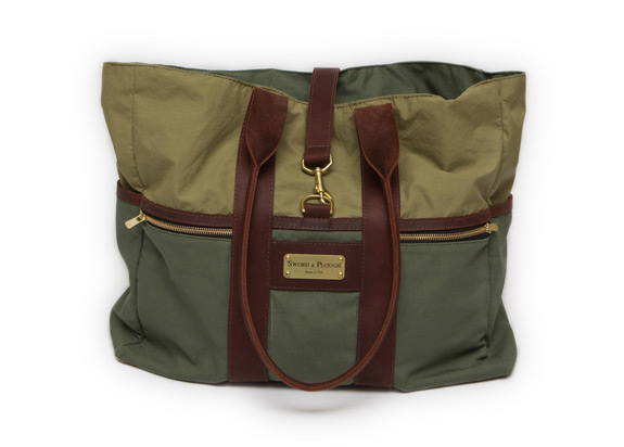 Sword Plough Tote Military Bag