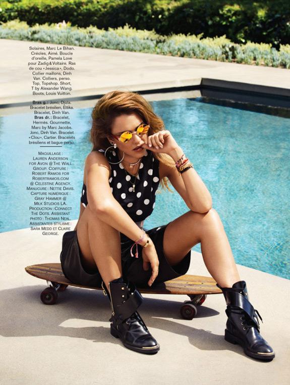 Jessica Alba Glamour Magazine France