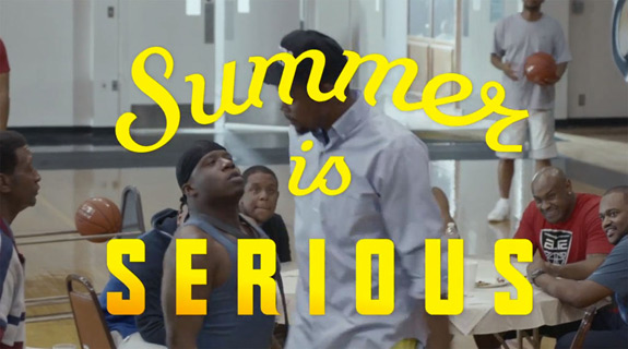 Nike Basketball Kevin Durant Summer Is Serious