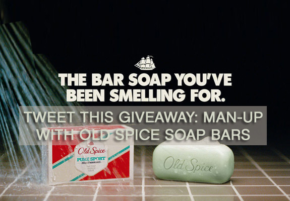 Old Spice Bar Soap Smell Giveaway