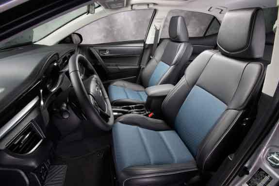 2014 Toyota Corolla S Inside