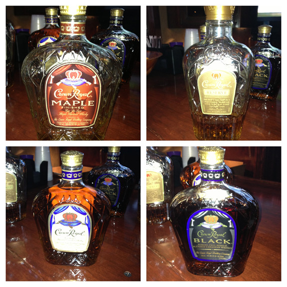 Crown Royal Bottles